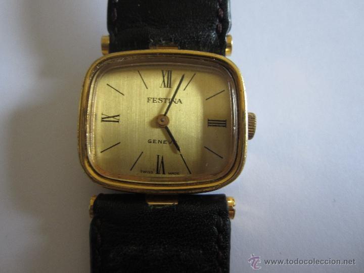 Relojes de pulsera: RELOJ PULSERA FESTINA GENEVE, 10 MICRONES ORO,SWISS MADE - Foto 2 - 51502125