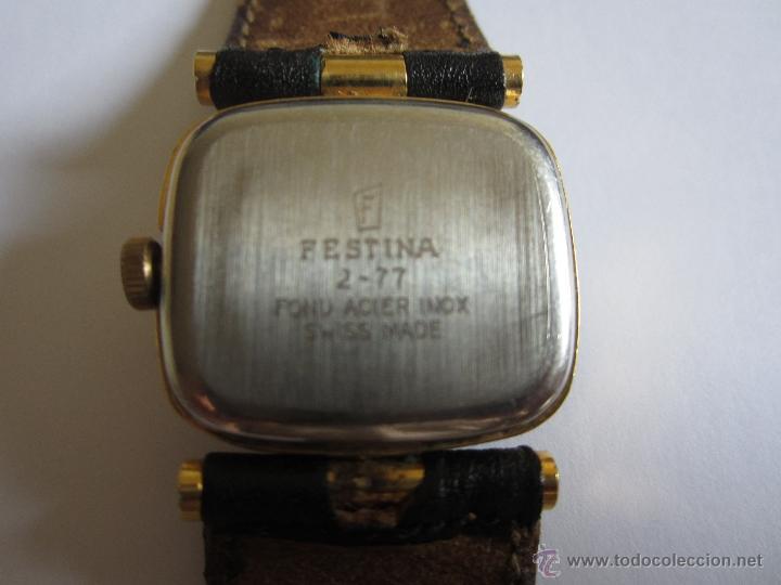 Relojes de pulsera: RELOJ PULSERA FESTINA GENEVE, 10 MICRONES ORO,SWISS MADE - Foto 4 - 51502125