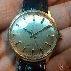 Relojes de pulsera: BELLÍSIMO RELOJ DE LOS 60 A CUERDA TIMEX, UN VINTAGE IDEAL PARA USO DIARIO. Lote 51803925