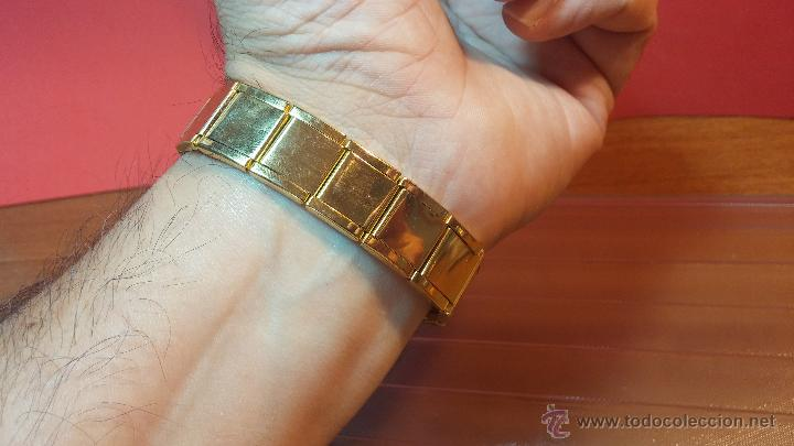 Relojes de pulsera: Especimen in OF, reloj Suizo VIntage Lanco Imperator, gran tamaño, a cuerda y de 15 rubís - Foto 12 - 99052444