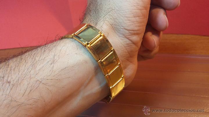 Relojes de pulsera: Especimen in OF, reloj Suizo VIntage Lanco Imperator, gran tamaño, a cuerda y de 15 rubís - Foto 14 - 99052444