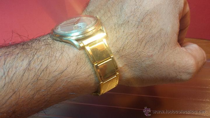 Relojes de pulsera: Especimen in OF, reloj Suizo VIntage Lanco Imperator, gran tamaño, a cuerda y de 15 rubís - Foto 15 - 99052444