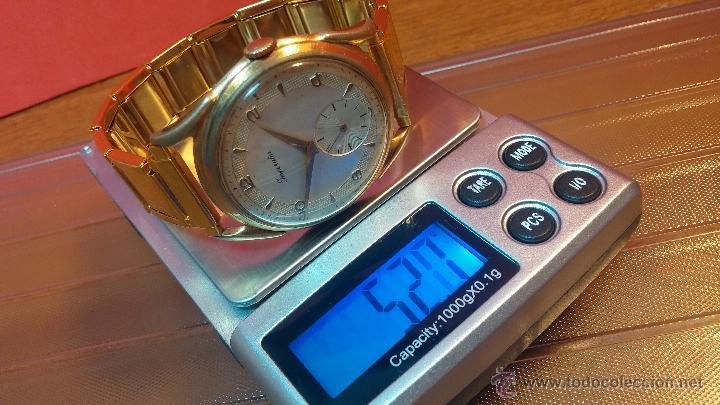 Relojes de pulsera: Especimen in OF, reloj Suizo VIntage Lanco Imperator, gran tamaño, a cuerda y de 15 rubís - Foto 17 - 99052444