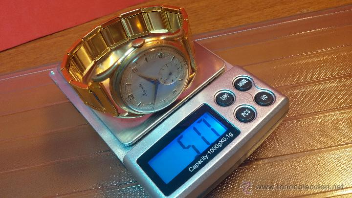 Relojes de pulsera: Especimen in OF, reloj Suizo VIntage Lanco Imperator, gran tamaño, a cuerda y de 15 rubís - Foto 18 - 99052444