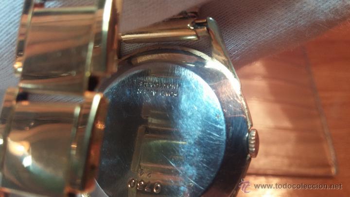 Relojes de pulsera: Especimen in OF, reloj Suizo VIntage Lanco Imperator, gran tamaño, a cuerda y de 15 rubís - Foto 25 - 99052444