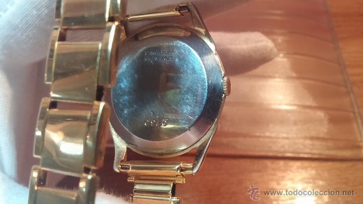 Relojes de pulsera: Especimen in OF, reloj Suizo VIntage Lanco Imperator, gran tamaño, a cuerda y de 15 rubís - Foto 26 - 99052444