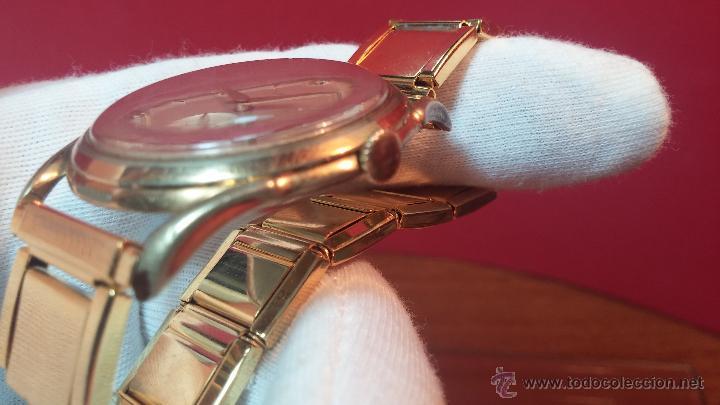 Relojes de pulsera: Especimen in OF, reloj Suizo VIntage Lanco Imperator, gran tamaño, a cuerda y de 15 rubís - Foto 27 - 99052444