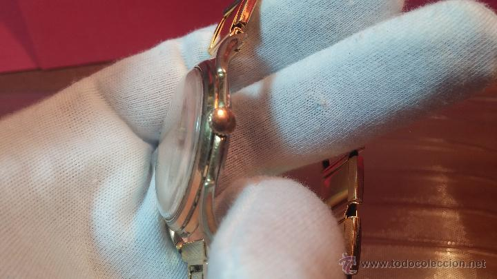 Relojes de pulsera: Especimen in OF, reloj Suizo VIntage Lanco Imperator, gran tamaño, a cuerda y de 15 rubís - Foto 30 - 99052444