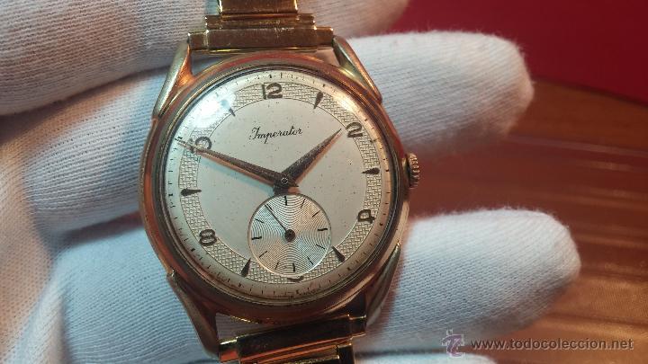 Relojes de pulsera: Especimen in OF, reloj Suizo VIntage Lanco Imperator, gran tamaño, a cuerda y de 15 rubís - Foto 33 - 99052444