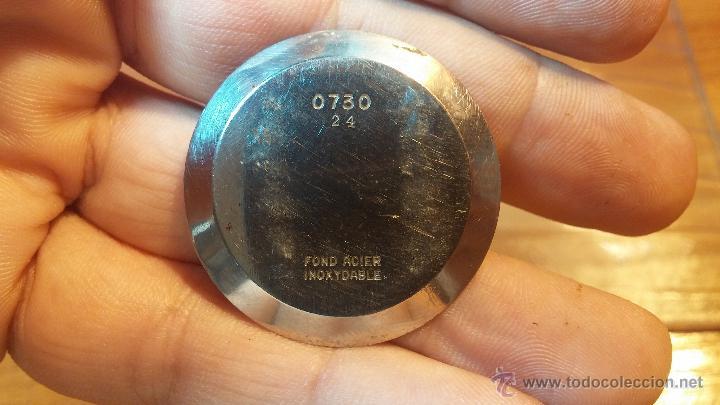 Relojes de pulsera: Especimen in OF, reloj Suizo VIntage Lanco Imperator, gran tamaño, a cuerda y de 15 rubís - Foto 35 - 99052444