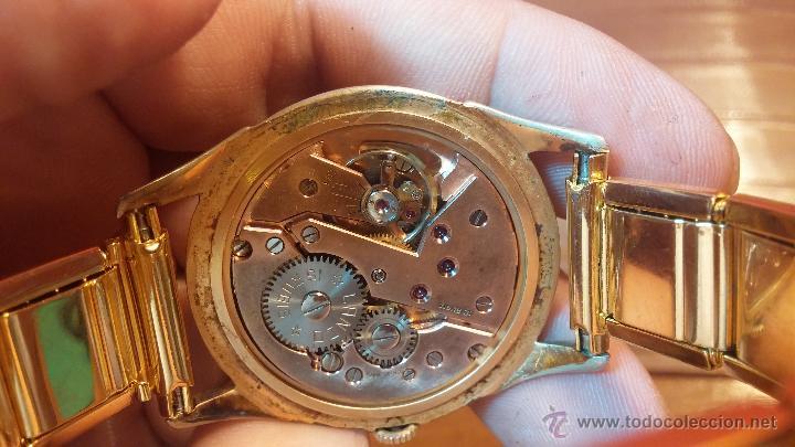 Relojes de pulsera: Especimen in OF, reloj Suizo VIntage Lanco Imperator, gran tamaño, a cuerda y de 15 rubís - Foto 36 - 99052444