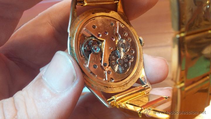 Relojes de pulsera: Especimen in OF, reloj Suizo VIntage Lanco Imperator, gran tamaño, a cuerda y de 15 rubís - Foto 37 - 99052444