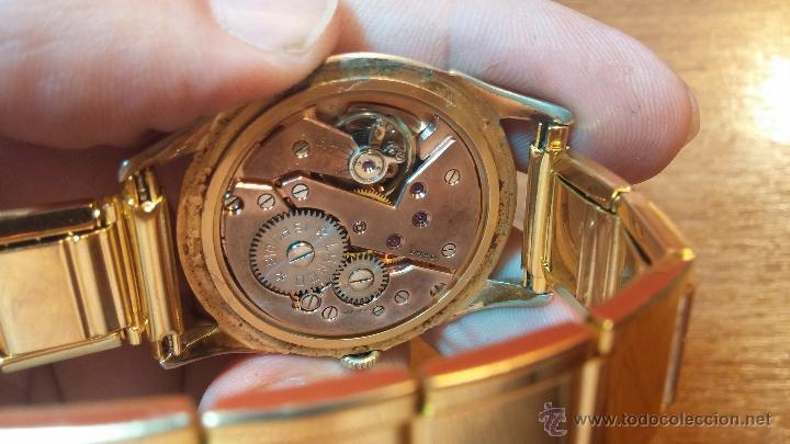 Relojes de pulsera: Especimen in OF, reloj Suizo VIntage Lanco Imperator, gran tamaño, a cuerda y de 15 rubís - Foto 38 - 99052444