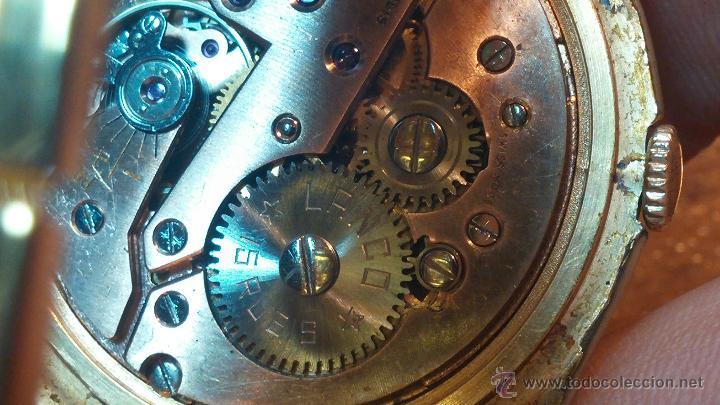 Relojes de pulsera: Especimen in OF, reloj Suizo VIntage Lanco Imperator, gran tamaño, a cuerda y de 15 rubís - Foto 39 - 99052444