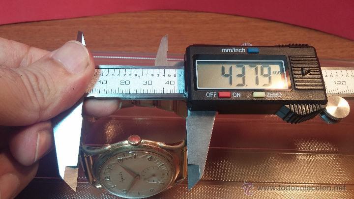 Relojes de pulsera: Especimen in OF, reloj Suizo VIntage Lanco Imperator, gran tamaño, a cuerda y de 15 rubís - Foto 40 - 99052444
