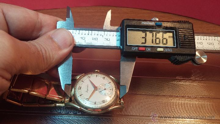 Relojes de pulsera: Especimen in OF, reloj Suizo VIntage Lanco Imperator, gran tamaño, a cuerda y de 15 rubís - Foto 41 - 99052444