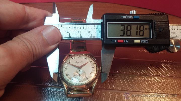 Relojes de pulsera: Especimen in OF, reloj Suizo VIntage Lanco Imperator, gran tamaño, a cuerda y de 15 rubís - Foto 42 - 99052444