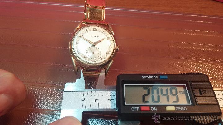 Relojes de pulsera: Especimen in OF, reloj Suizo VIntage Lanco Imperator, gran tamaño, a cuerda y de 15 rubís - Foto 43 - 99052444