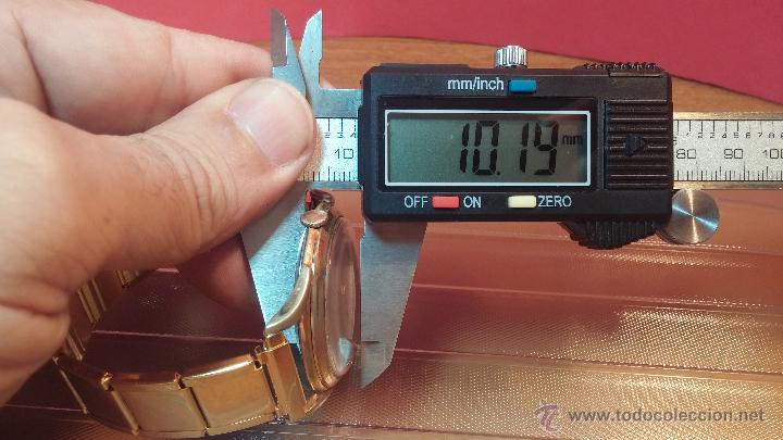 Relojes de pulsera: Especimen in OF, reloj Suizo VIntage Lanco Imperator, gran tamaño, a cuerda y de 15 rubís - Foto 44 - 99052444