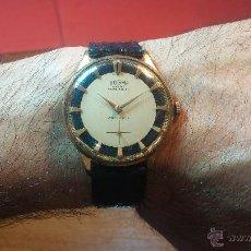 Relojes de pulsera: RELOJ DOGMA DE CABALLERO CON BELLA Y RARA ESFERA BICOLOR. Lote 52280883