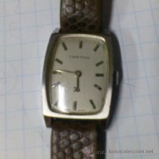 Relojes de pulsera: RELOJ PULSERA PARA MUJER CERTINA, MODELO 70. FUNCIONANDO. Lote 52345368
