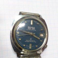 Relojes de pulsera: RELOJ PULSERA CABALLERO A CUERDA - RAMBA - .. ALFONSOJO. Lote 52433068