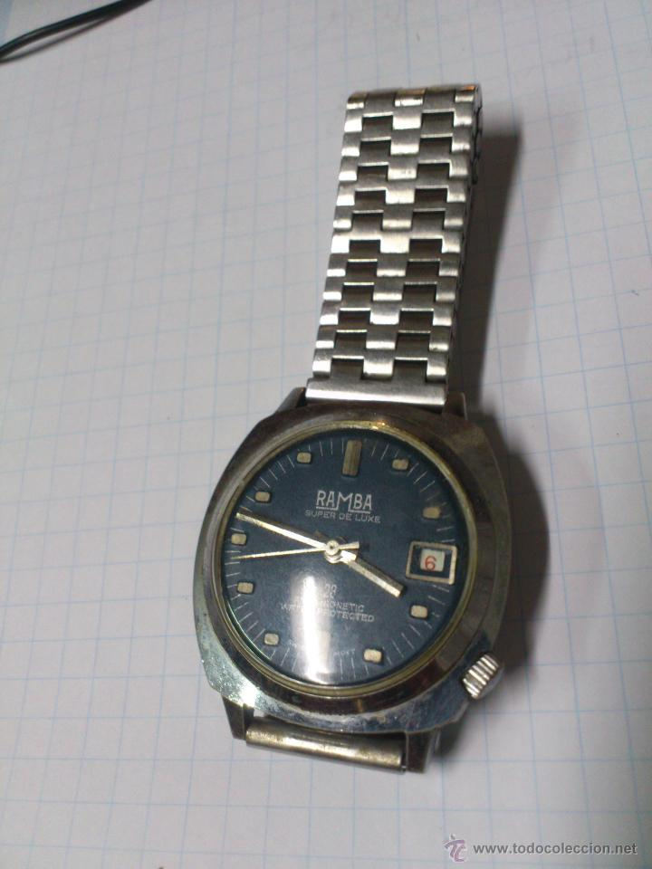 Relojes de pulsera: RELOJ PULSERA CABALLERO A CUERDA - RAMBA - .. ALFONSOJO - Foto 3 - 52433068