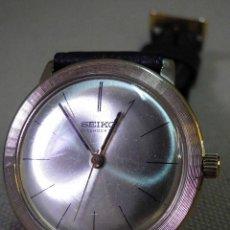 Relojes de pulsera: RARO RELOJ VINTAGE, SEIKO DIASHOCK, 21 JEWELS, CARGA MANUAL, ORO LAMINADO, JAPON 1960S. Lote 52443554