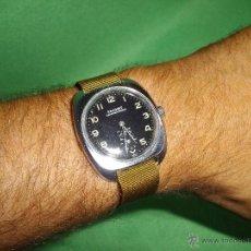 Relojes de pulsera: PRECIOSO RELOJ MILITAR FAVORIT SWISS UNITAS 6325 WEHRMACHTSWERK ORIGINAL 60´S BAUHAUS COLECCIÓN. Lote 52591225
