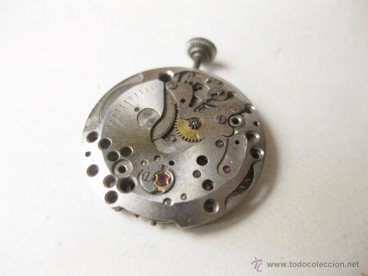 Relojes de pulsera: MAQUINARIA DE CUERDA DE UN RELOJ BAUME & MERCIER DE SEÑORITA - NO FUNCIONA - Foto 2 - 52775765