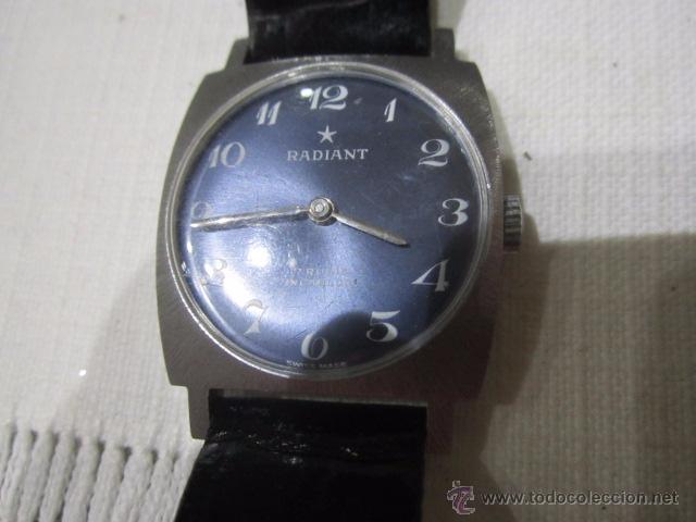 Relojes de pulsera: Reloj de pulsera Radiant, sin uso MOVIMIENTO CUERDA. 225 x 27 cms. Funcionando. - Foto 3 - 52782335