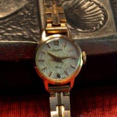 Relojes de pulsera: RELOJ DE MUJER DUWARD KING , CAJA DE ORO 18K 0,750, AÑOS 50-60. Lote 52911515