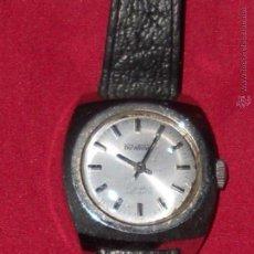 Relojes de pulsera: ANTIGUO RELOJ DE DEÑORA DUWARD CUERDA 17 JEWESL INCABLOC AÑOS 50 FUNCIONANDO. Lote 52915854