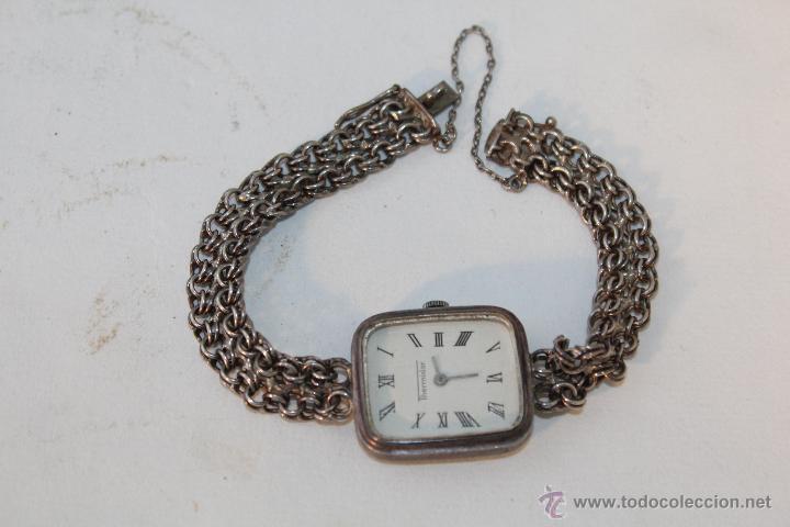 caf5c6a882cb Reloj de mujer a cuerda en plata de ley 925mile - Vendido en Subasta ...