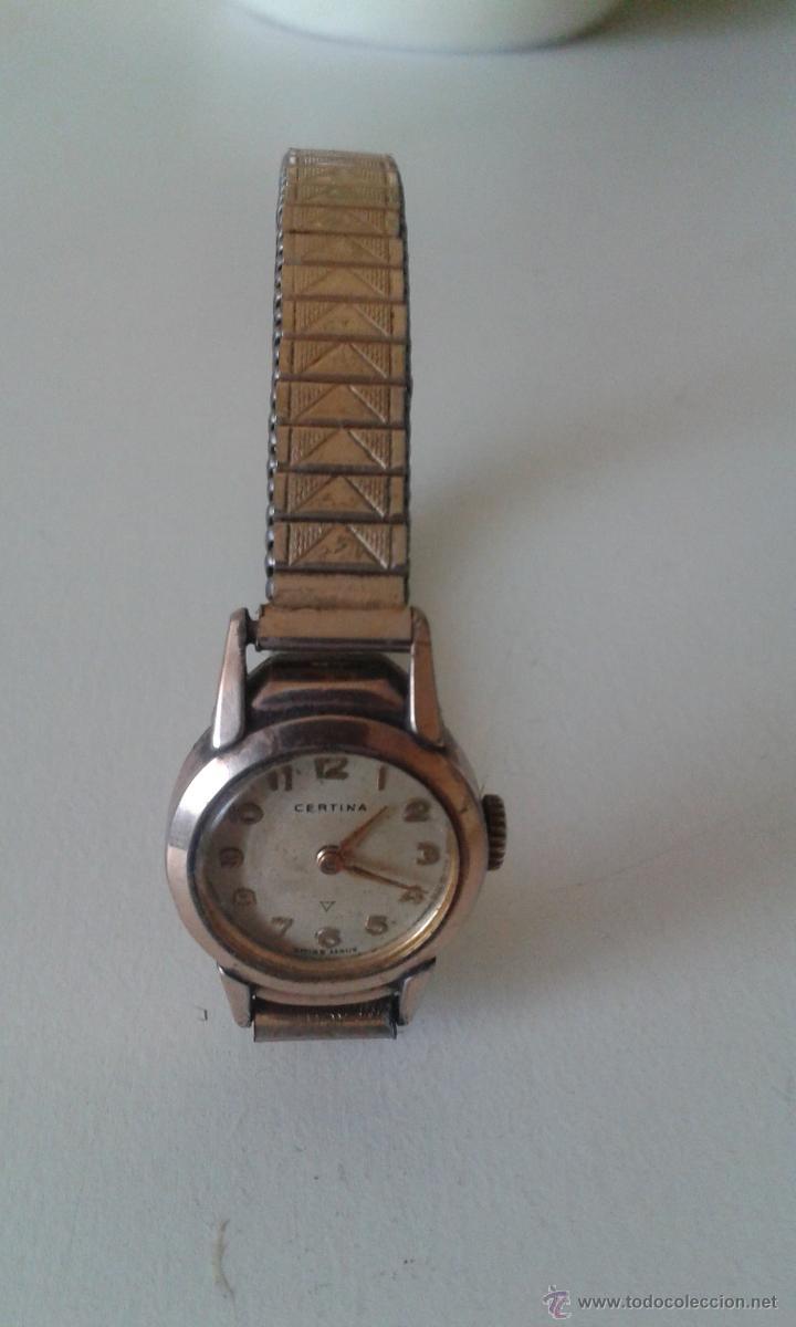 Relojes certina mujer antiguos