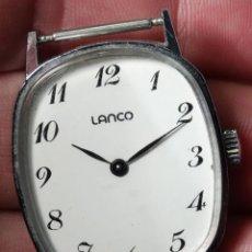 Relojes de pulsera: RELOJ LANCO SWISS MADE CARGA MANUAL 17 JEWELLS SUIZA. Lote 53078611