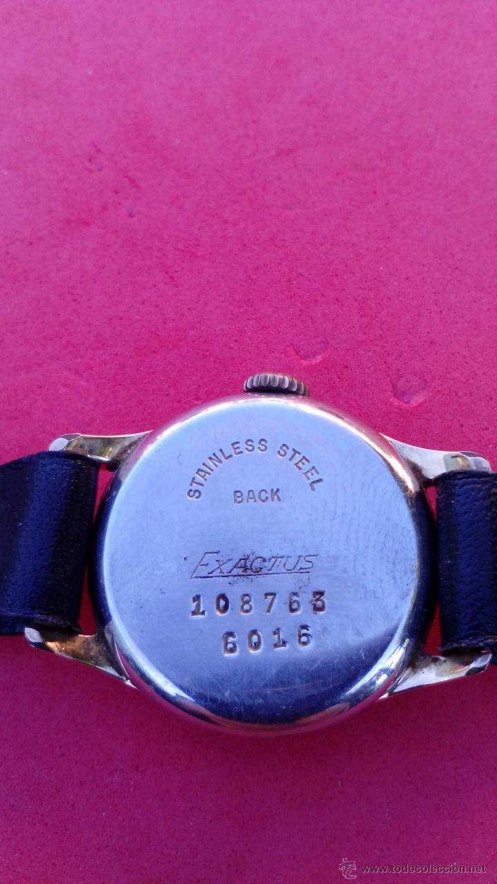 Relojes de pulsera: RELOJ EXACTUS CHAPADO EN ORO - Foto 2 - 53151488