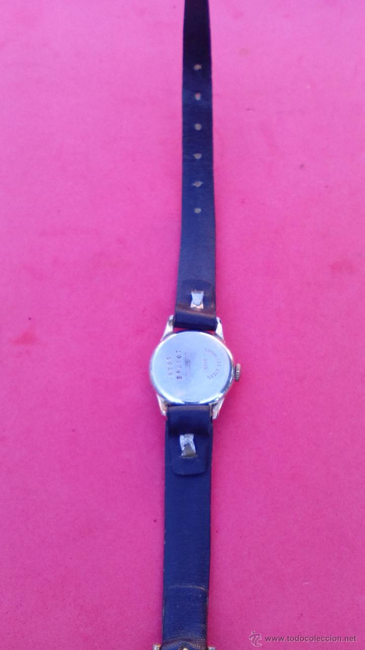 Relojes de pulsera: RELOJ EXACTUS CHAPADO EN ORO - Foto 4 - 53151488