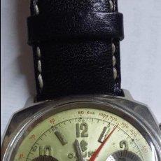 Relojes de pulsera: RELOJ CAUNY SWISS CRONOMETRO WATERPROOF ANTICHOC 17 RUBIS. Lote 53178252