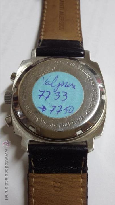 Relojes de pulsera: RELOJ CAUNY SWISS CRONOMETRO WATERPROOF ANTICHOC 17 RUBIS - Foto 8 - 53178252