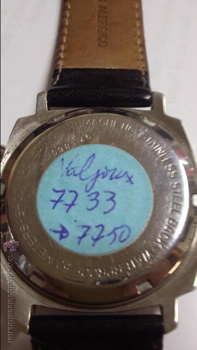 Relojes de pulsera: RELOJ CAUNY SWISS CRONOMETRO WATERPROOF ANTICHOC 17 RUBIS - Foto 9 - 53178252