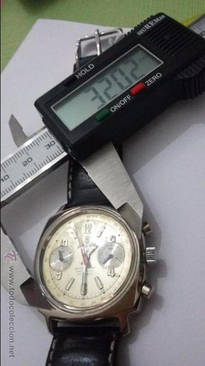 Relojes de pulsera: RELOJ CAUNY SWISS CRONOMETRO WATERPROOF ANTICHOC 17 RUBIS - Foto 10 - 53178252