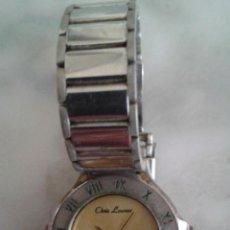 Relojes de pulsera: ANTIGUO RELOJ DE SEÑORA CHRIS LAURAN (JAPÓN) NO FUNCIONA. Lote 53265256