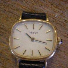 Relojes de pulsera: ANTIGUO RELOJ PULSERA TISSOT A CUERDA FUNCIONANDO. Lote 53344890