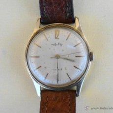 Relojes de pulsera: RELOJ DE PULSERA ARCTOS MECANICO CUERDA CARGA MANUAL AÑOS 60 FUNCIONA. Lote 53496704