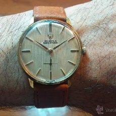 Relojes de pulsera: RELOJ SUIZO VINTAGE DE CUERDA RUBINA , 17 RUBÍS, CALIBRE A 152, RECOMENDADO PARA USO DIARIO. Lote 53582891