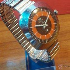 Relojes de pulsera: RELOJ VINTAGE A CUERDA, ONIL, ANTIMAGNETIC, AÑOS 50, RECOMENDADO PARA USO DIARIO. Lote 53593539
