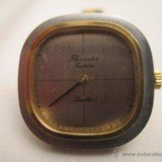 Relojes de pulsera: ESTRENAR RELOJ DE PULSERA THERMIDOR FANTASÍA. CARGA MANUAL. 2,6 X 2,5 CMS.. Lote 53704188