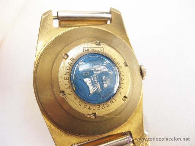 Relojes de pulsera: Reloj de pulsera Calendario Lings. Funcionando. - Foto 4 - 53731533