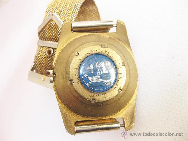 Relojes de pulsera: Reloj de pulsera Calendario Lings. Funcionando. - Foto 5 - 53731533